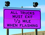 WYDOT installs new signs on I-25 to help reduce blowovers